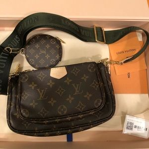 Louis Vuitton Multi Pochette Khaki